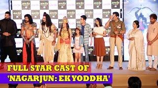 Nagarjun EK Yoddha ft Anshuman Malhotra, Nikitin Dheer, Pooja Banerjee | Life Ok Serial Launch