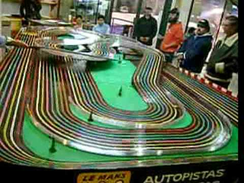 Slot Cars Video 4 Bsrt Wizzard Tyco Competition Unlimited In