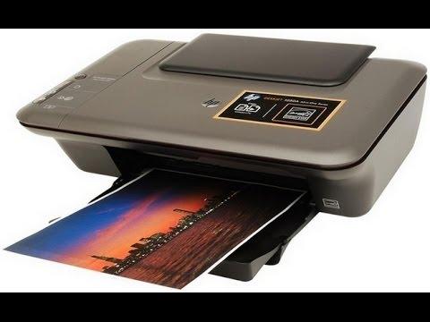Печать фото без полей HP