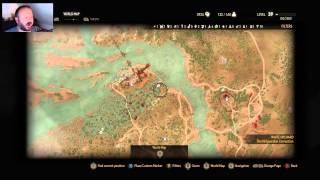 Witcher 3 New Game Plus Gameplay - Viper Armor Hunt? (1080p 60 fps)