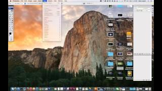 02 Photoshop menu bar Tutorial