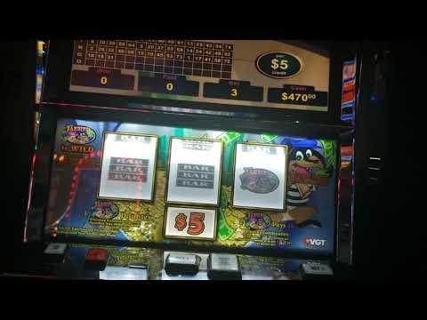 1st handpay of 2019/Winstar World Casino