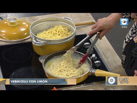 Vermicelli con con limón