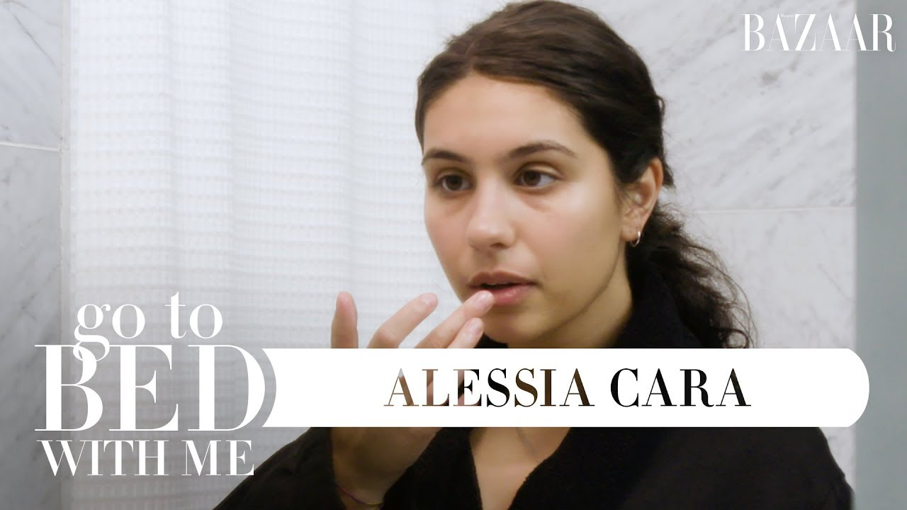Alessia Cara's Nighttime Skincare Routine | Go To Bed With Me ...