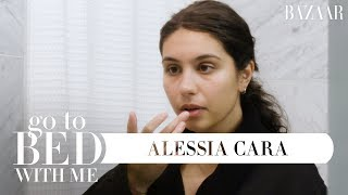 Alessia Cara's Nighttime Skincare Routine | Go To Bed With Me | Harper's BAZAAR Video