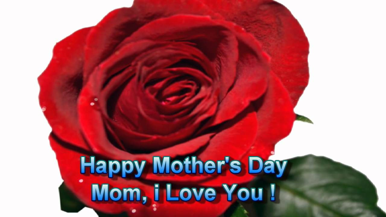 Happy Mothers Day Flowers Greeting Card 2018 Flowers Greeting To