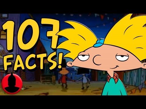 107 Hey Arnold Facts YOU Should Know! (ToonedUp #47) @ChannelFred