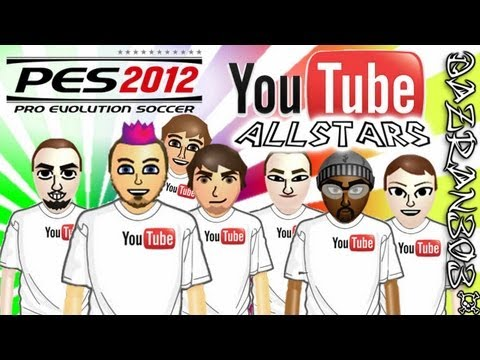 Pro Evolution Soccer 2012 Wii | YOUTUBE ALLSTARS vs NORTH WEST LONDON