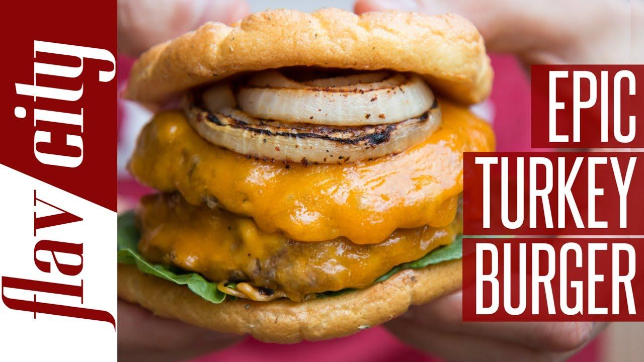 Turkey Burger With Bun Calories