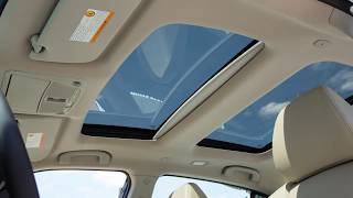2018 Nissan Maxima - Moonroof (if so equipped)