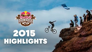 Top Freeride Mountain Bike Highlights | Red Bull Rampage 2015
