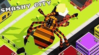СУПЕР МЕГА МОНСТРЫ в SMASHY CITY #1 Видео для детей ПРОХОЖДЕНИЕ игры про животных МУЛЬТ ГЕРОИ #kids