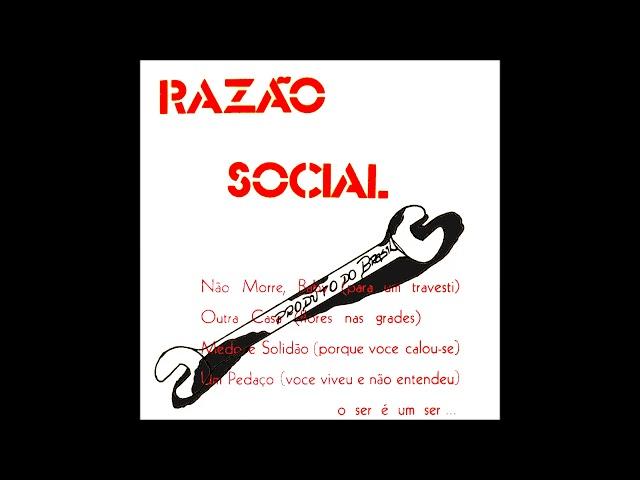 Banda Razão Social - Não Morre, Baby (Para um Travesti)