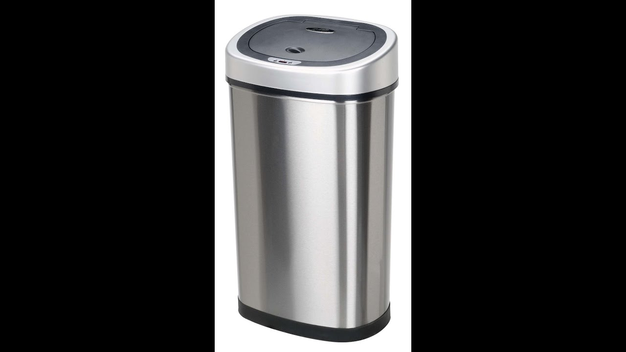 Practical Product Review: Ninestar Infrared Kitchen Trash Can - YouTube