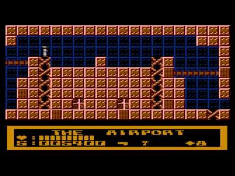 Tecno Ninja for the Atari 8-bit family