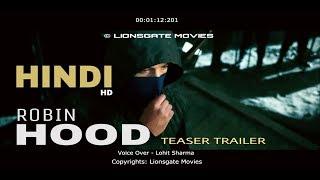 Robin Hood (2018) | HINDI | Dubbing Cover | Teaser Trailer - Jamie Dornan, Jamie Foxx