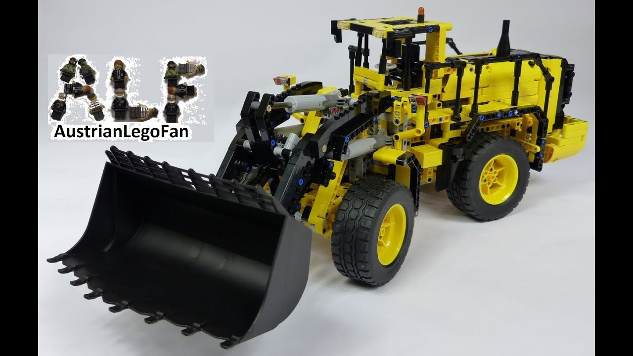 lego technic 42030 volvo l350f wheel loader radlader. Black Bedroom Furniture Sets. Home Design Ideas