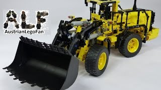 Lego Technic 42030 Volvo L350F Wheel Loader / Radlader - Lego Speed build Review