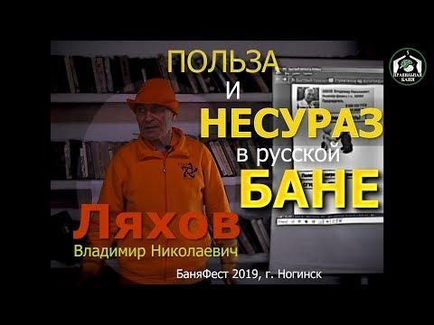 Польза и НЕСУРАЗ в русской бане. В.Н. Ляхов