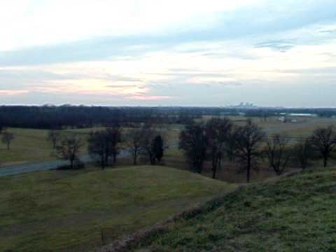 Atop Monks Mound @ Cahokia