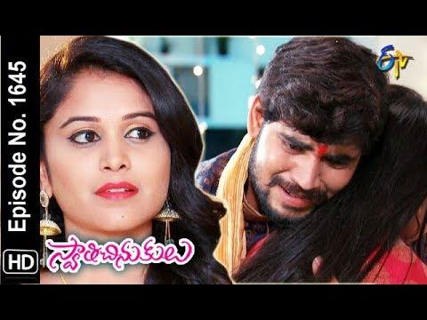 Swathi Chinukulu | 10th December 2018 | Full Episode No 1645 | ETV Telugu