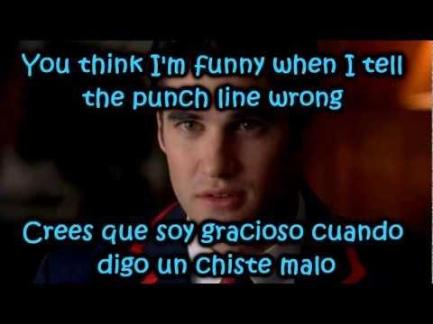 Glee - Teenage Dream / Sub Spanish With Lyrics