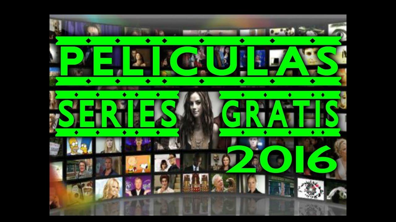 Buenas Paginas Para Ver Peliculas Y Series Online Gratis Completas En Español Series Cine Youtube