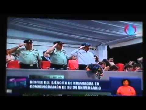 Nicaraguan military parade 2013 part 1