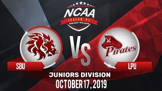SBU vs. LPU | NCAA 95 Jrs Basketball | October 17, 2019
