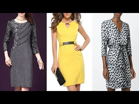 VESTIDOS ELEGANTES DE MODA /  Nuevas Tendencias De Moda Otoño Invierno 2019,  2020 / Fashion Love