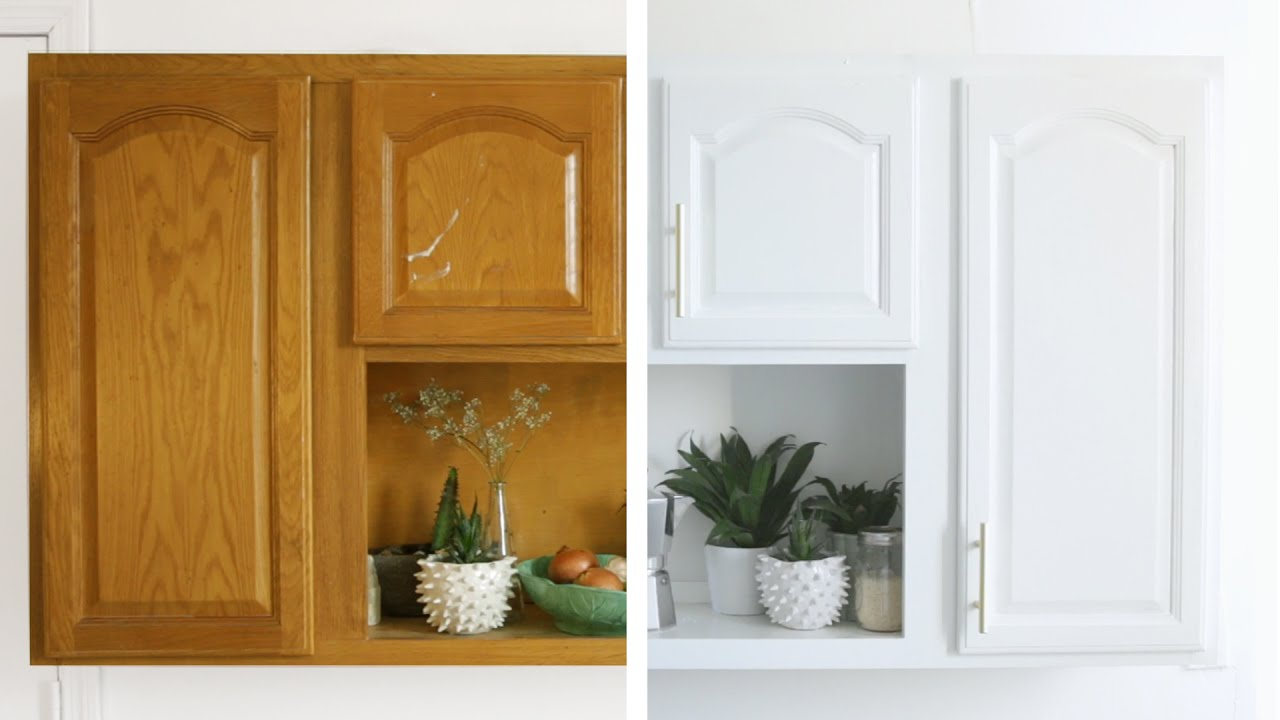 3-Step Kitchen Cabinet Makeover