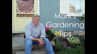 Mark's Gardening Tips - Watering
