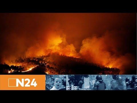 N24 Nachrichten - Feuersbrunst: Mindestens 57 Tote bei verheerenden Waldbrand in Portugal