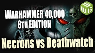 Video Necrons vs Deathwatch Warhammer 40k 8th Edition Battle Report Ep 79 download MP3, 3GP, MP4, WEBM, AVI, FLV Januari 2018