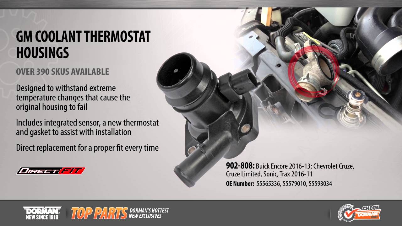 Coolant Thermostat Housing  YouTube