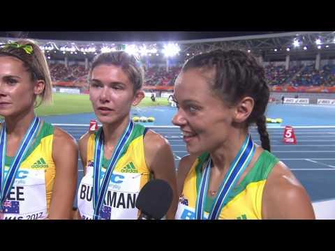 IAAF/BTC World Relays Bahamas 2017 - 4X800m Women Final Team Australia Bronze