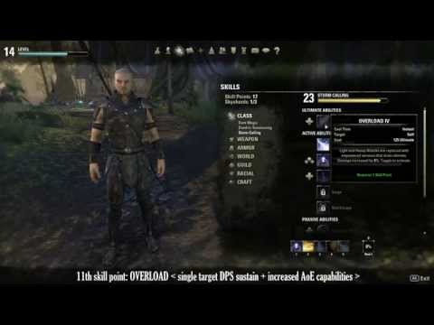 ESO - Sorcerer builds: all you need to know to get you started...