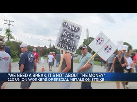 Special Metals Union Workers On Strike