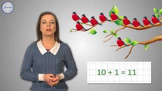 Математика 1 класс Название и запись чисел до 20