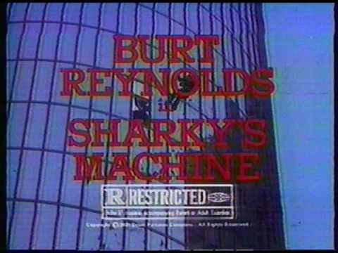 'Sharky's Machine' movie [02] - movie trailer-TV commercial (1981)