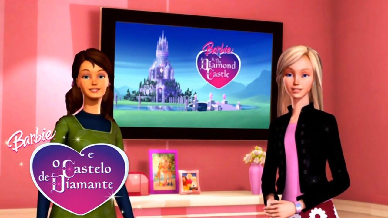 Cena Secreta Barbie E O Castelo De Diamante Youtube