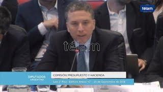 Dujovne afirmó que no habrá cambios en la política monetaria