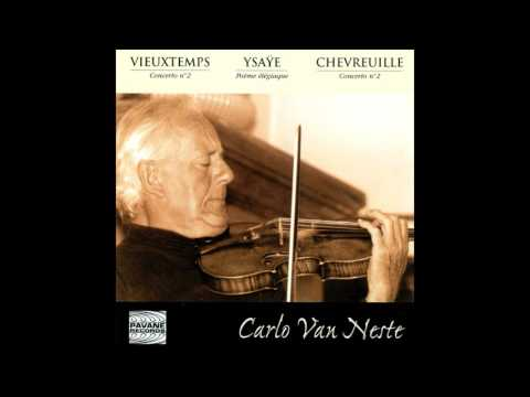 Carlo Van Neste, Orchestre de la RTB, Edgar Doneux - Concerto for Violin and Orchestra No. 2 in F Sh