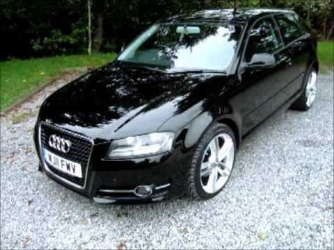 2011 audi a3 1 6 tdi se 3dr huge spec s line alloys youtube. Black Bedroom Furniture Sets. Home Design Ideas