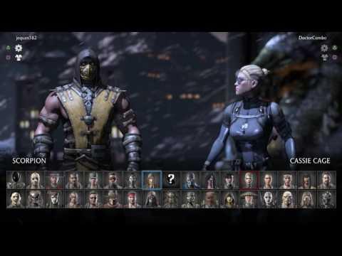 Mortal Kombat X (PS4) Online King Of The Hill - 6/27/16