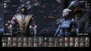 Mortal Kombat X (PS4) Online King of the Hill - 6/27/16