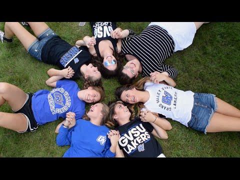 Delta Zeta Grand Valley State University Recruitment Video 2016