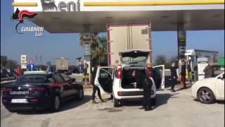 Molfetta - Blitz dei carabinieri: sventata rapina a tir, salvo l'autotrasportatore sequestrato