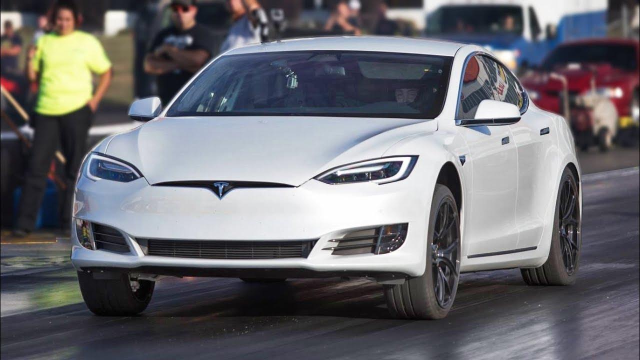 P100d Tesla Trolls Muscle Cars
