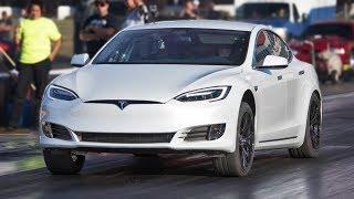 P100D Tesla TROLLS Muscle Cars!